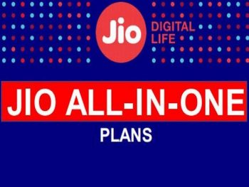 Reliance Jio All in One Plans